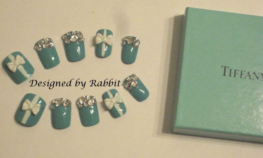 tiffany nails <3