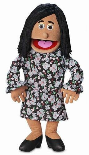 """Silly Puppets Barbara 25/"""" Full Body Puppet Ventriloquist Style Puppet"""
