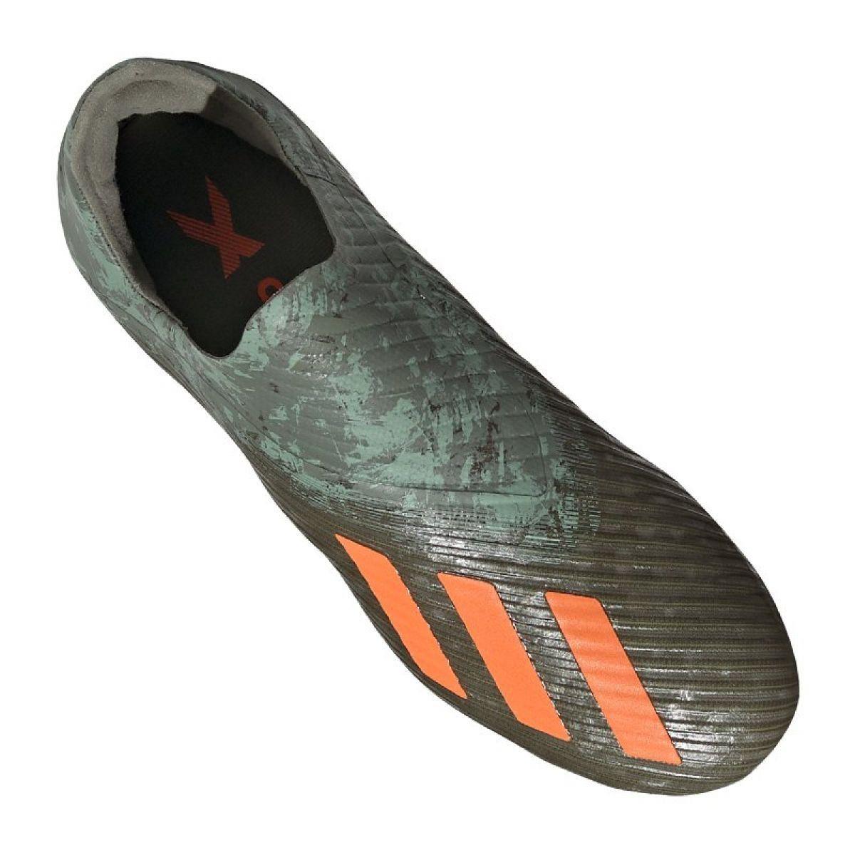 Buty Pilkarskie Adidas Jr X 19 Fg Jr Ef8744 Czarne Czarne Football Shoes Junior Boots Adidas