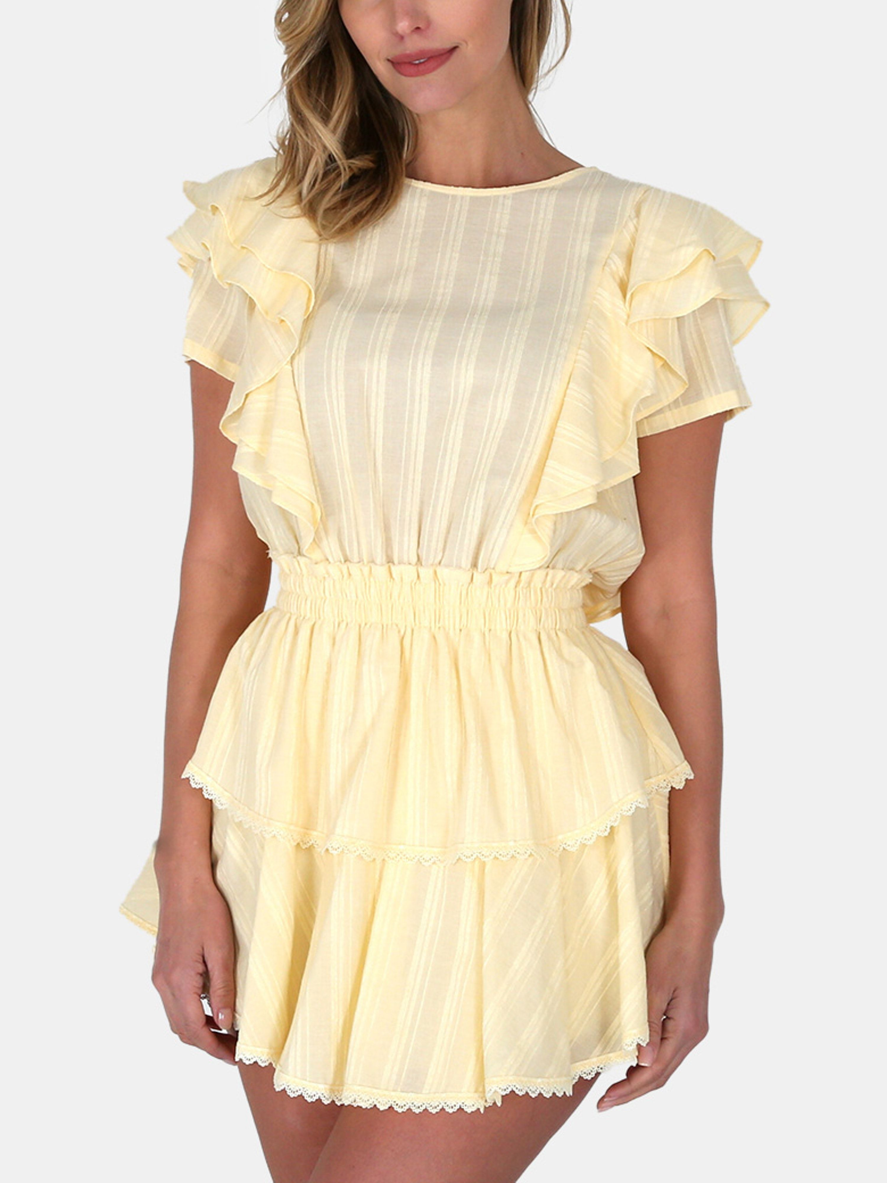 49++ Ruffle mini dress info