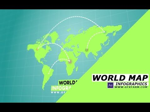 You will learn how to make a world map infographics animation in you will learn how to make a world map infographics animation in after effects using shape gumiabroncs Images