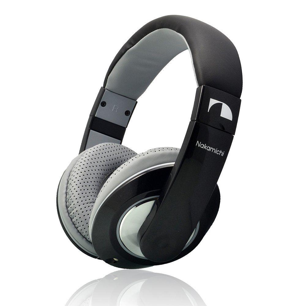 Nakamichi NK780M Metallics Series  Headphones (Black)