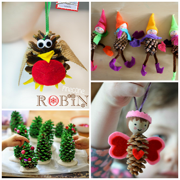 nnepi d szek tobozb l pine cone crafts pinecone crafts kids pine cone crafts crafts for kids. Black Bedroom Furniture Sets. Home Design Ideas