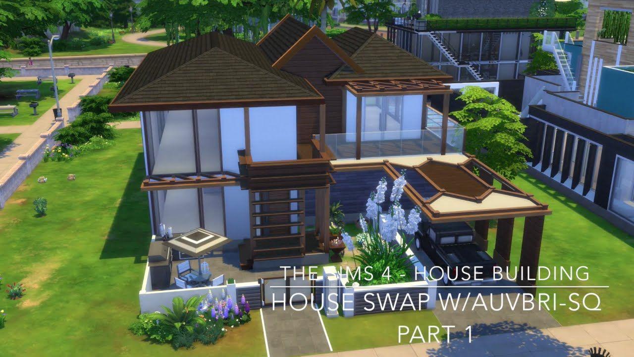 The Sims 4 - House Building - House Swap w/Auvbri SQ - Part 1