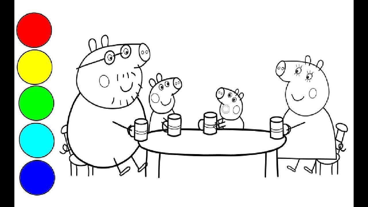Peppa Wutz Zeichnen Und Malen Fur Kinder Peppa Pig Zeichnen Peppa Wutz Peppa Pig Zeichnen