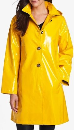 Fun rain slicker with detachable hood. http://rstyle.me/n/svfddbg7t7