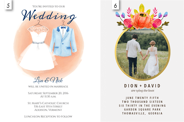 12 editable wedding invitation templates free download everafterguide