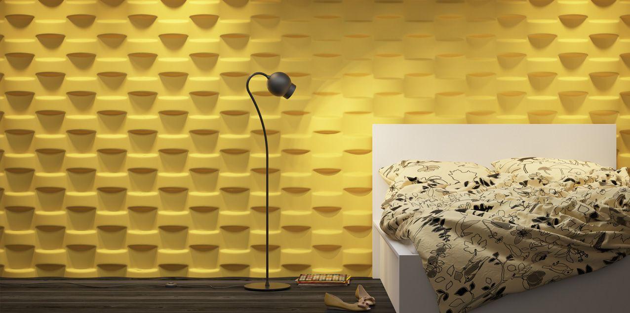 Wicker | 80x100cm | gips/plaster Wandpaneel / Wall panel Meer ...