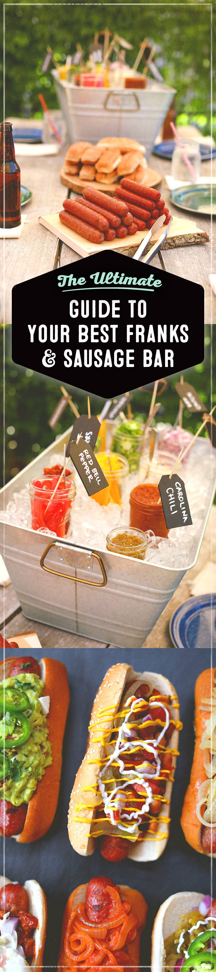 How to create the best hot dog bar for your summer ...