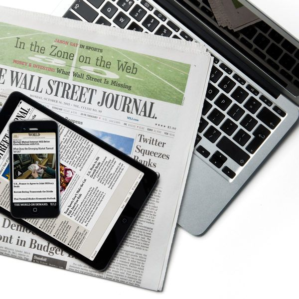 wall street journal 9 month print subscription with on wall st journal id=38390