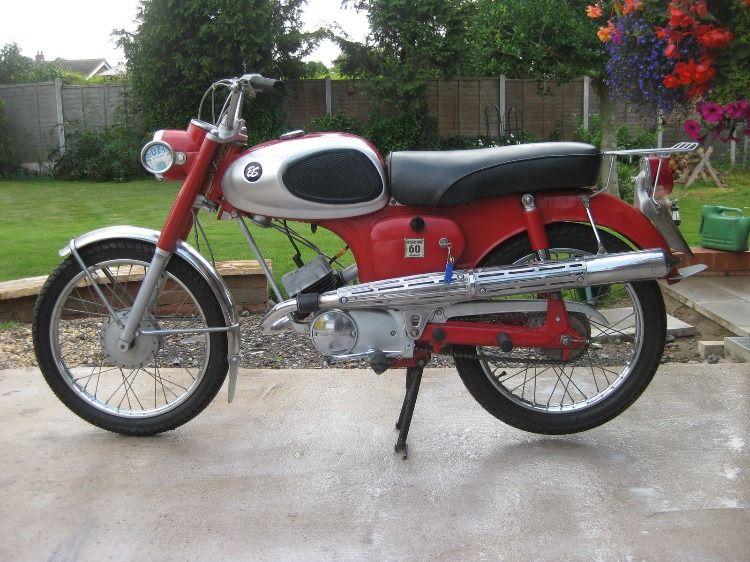 1966 Bridgestone 60 Sport Bridgestone Moped Vehicles