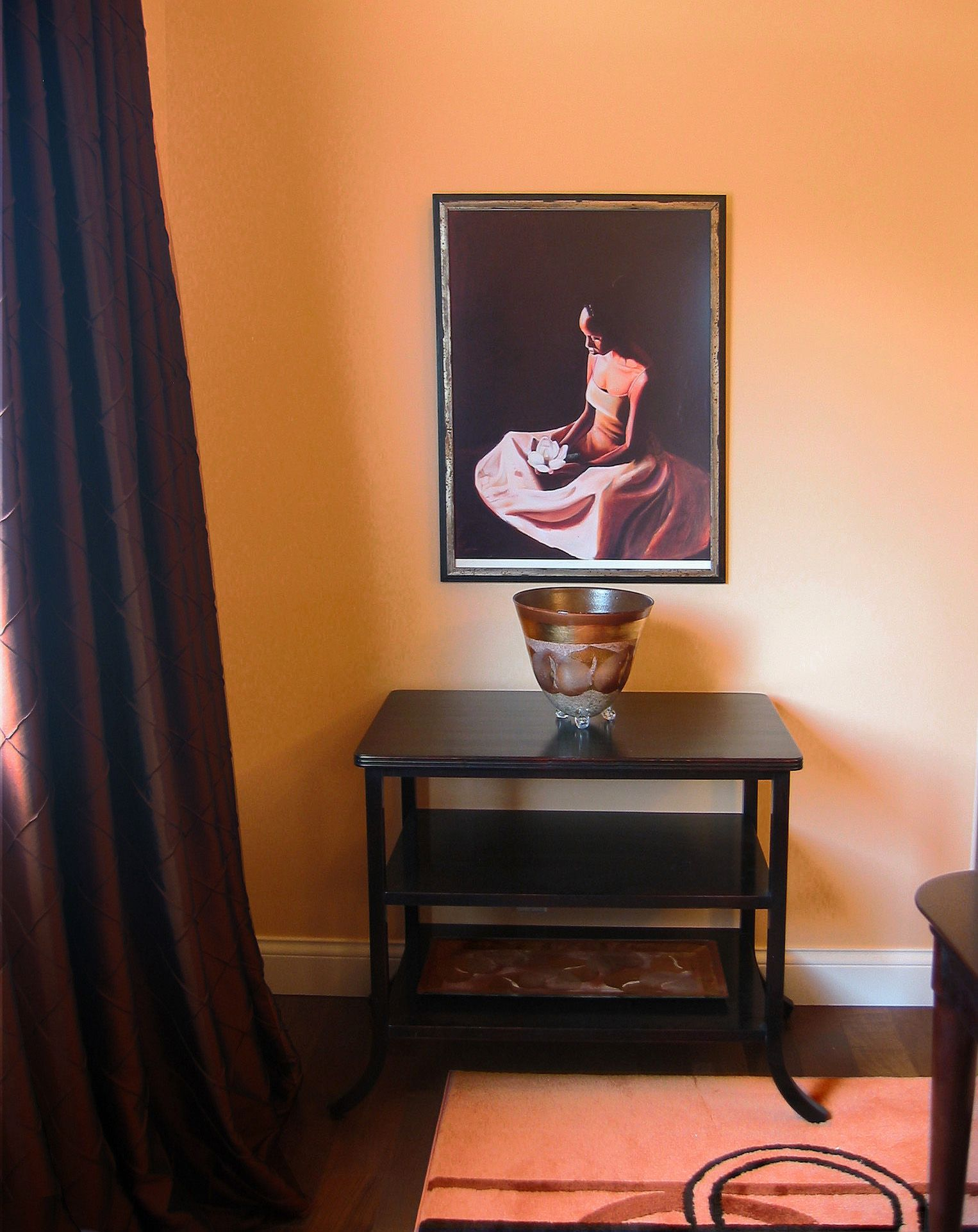 Vignette In The Salmon Colored Dining Room African American ArtAfrican