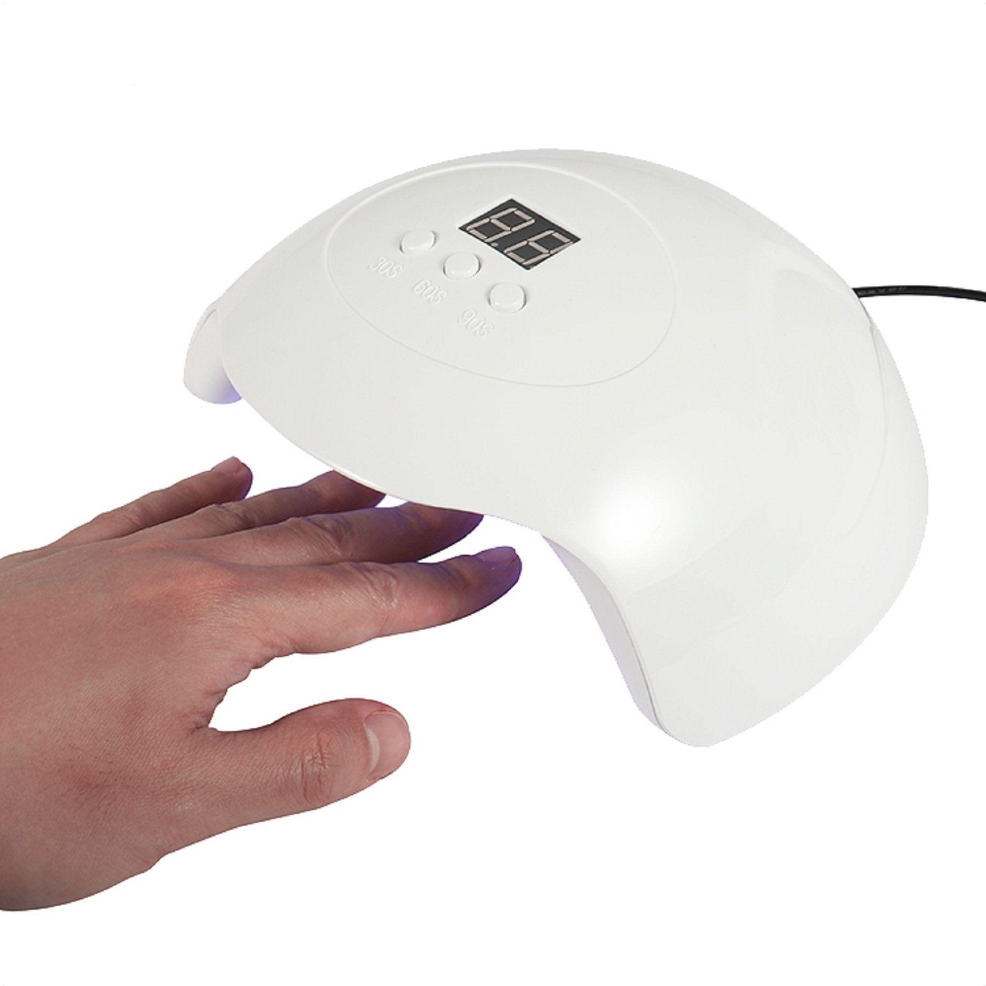 Nail Lamp For Uv Resin Led Nail Lamp 36w Nail Dryer Nail Uv Lamp Light Acrylic Nail Lamp Uv Led Nail Lamp Poly Gel Nail Curing Lamp In 2020 Led