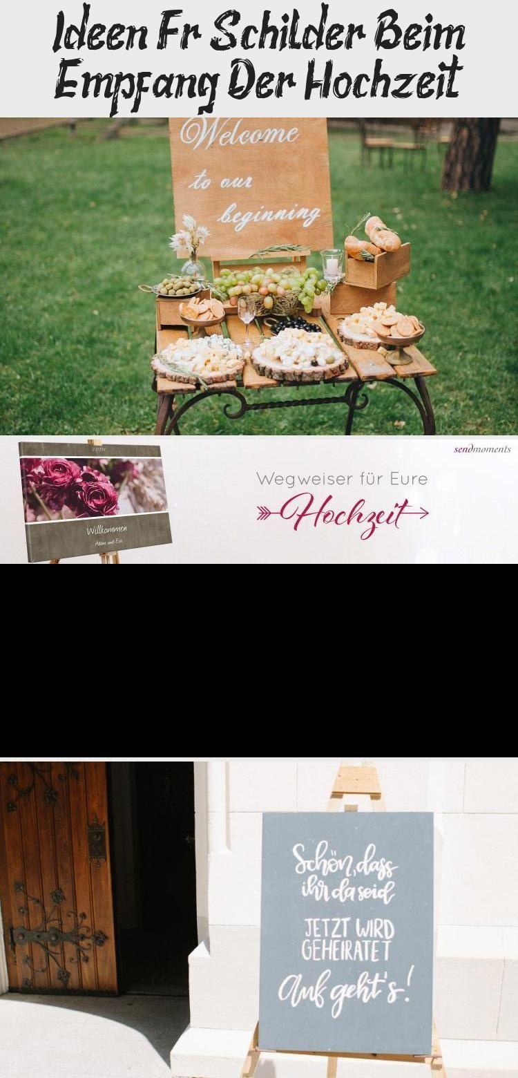 Ideen Fur Schilder An Der Hochzeitsfeier Schild Vor Der Kirche Ideen Fur In 2020 Wedding Reception Signs Reception Signs Wedding Reception