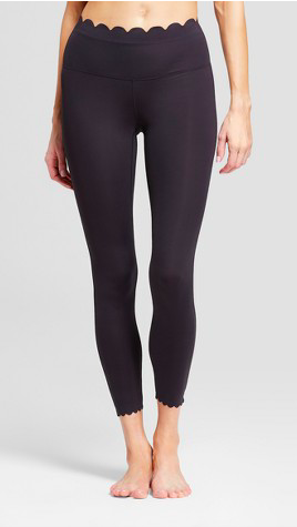 db32cc396dfb0 Women s Activewear · Fitness Fashion · Super cute scallop leggings! Find  them at target!