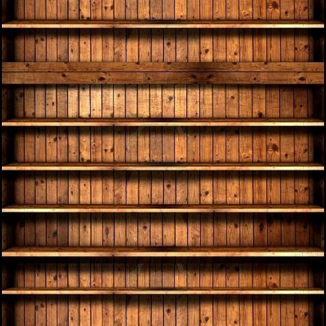 Bookshelf Wallpaper 640x640 Bookcase