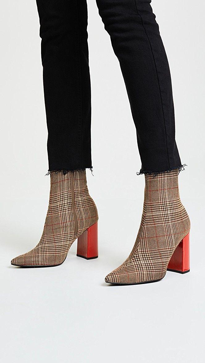 540748d0685 Jeffrey Campbell Siren Block Heel Ankle Booties