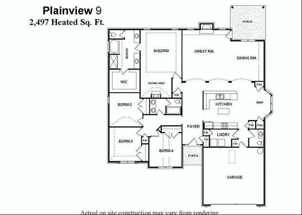 Single Level Floor Plans With Large Eat In Kitchen