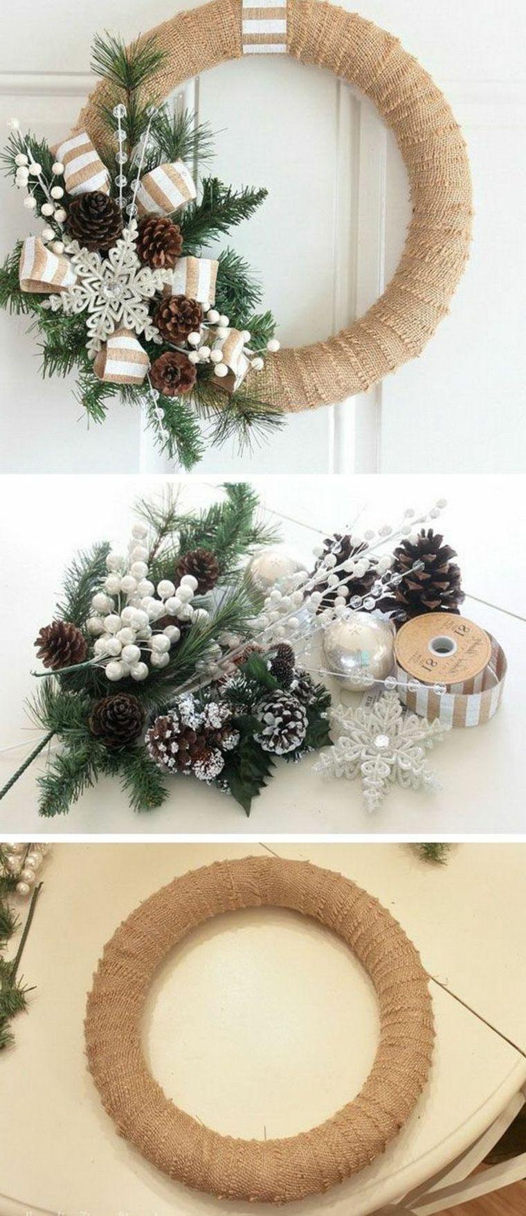 Creare Composizioni Per Natale ▷ 1001+ idee per ghirlande natalizie anche da realizzare