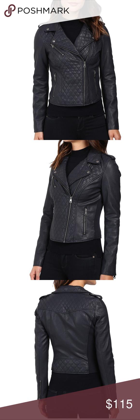 Levi's Faux Leather Moto Jacket Faux leather moto jacket