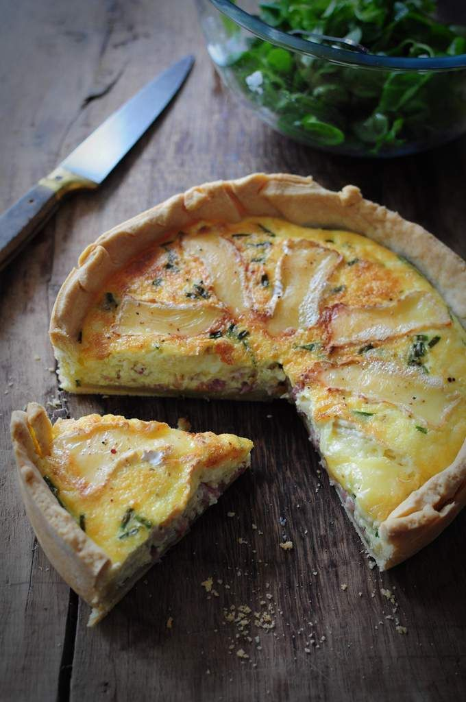 quiche lardons camenbert blog de cuisine cr ative recettes popotte de manue quiches. Black Bedroom Furniture Sets. Home Design Ideas