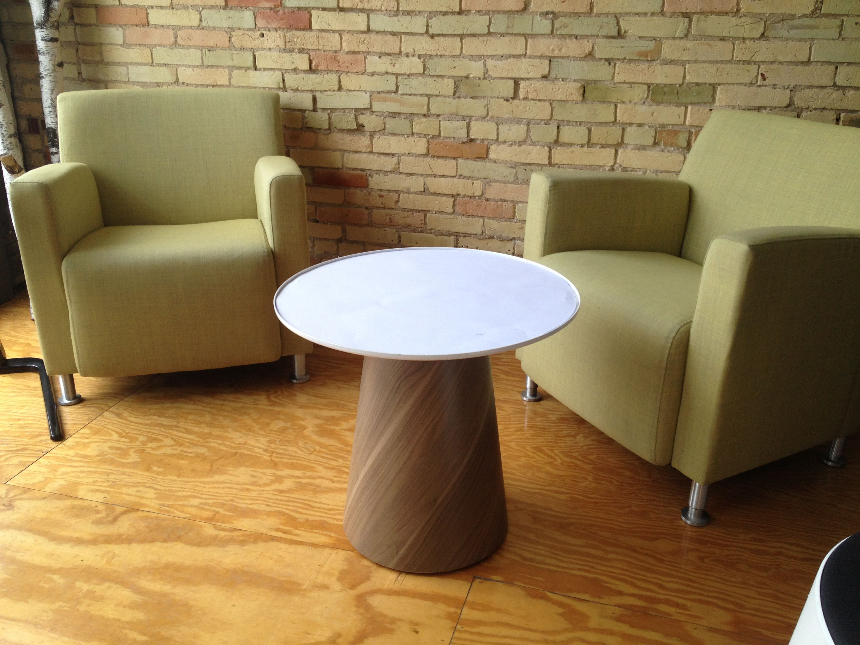 Paper Table Steelcase Turnstone office ideas