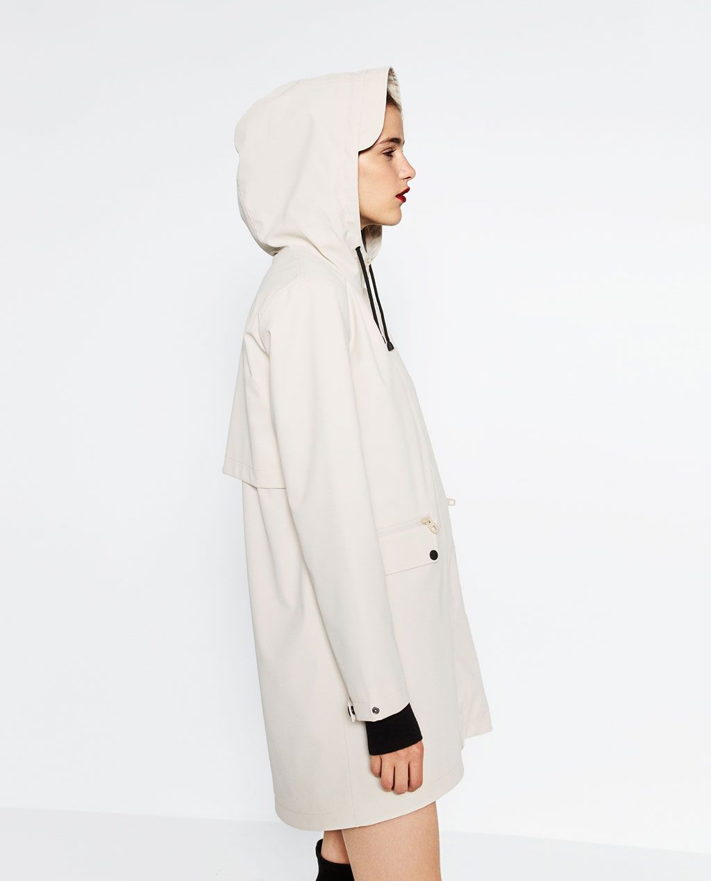 2a5529351 WATER REPELLENT RAINCOAT-OUTERWEAR-WOMAN   ZARA United States   To ...