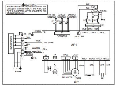 Schematic Diagram Electrical Data Air Conditioner Fully4world Diagram Electrical Diagram Electricity