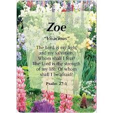 Αποτέλεσμα εικόνας για name zoe