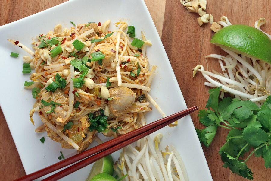 Keto chicken pad thai recipe chicken pad thai pad
