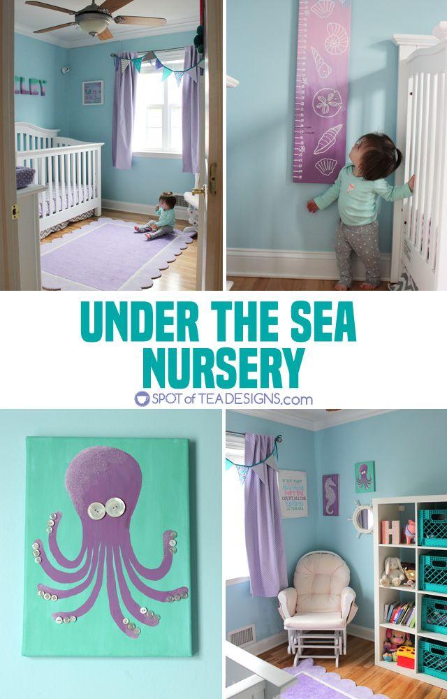 Under The Sea Nursery Mermaid Baby Nurseries