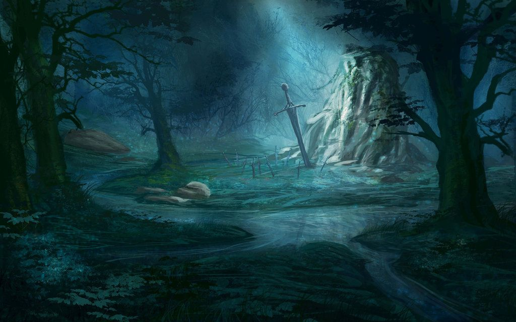art dark car forest - photo #38