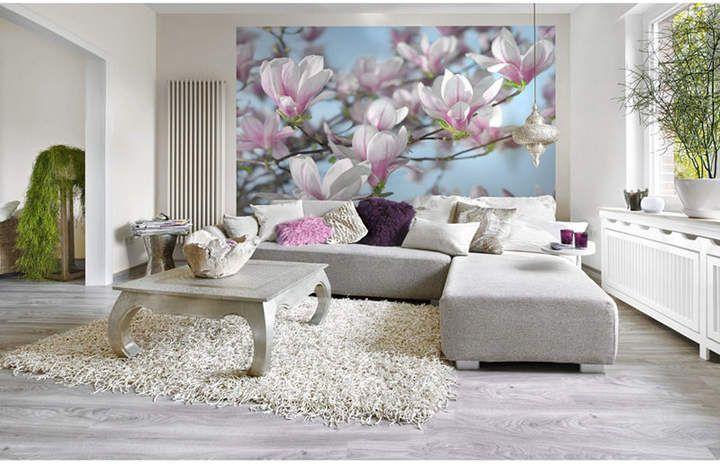 Brewster Home Fashions Magnolia Wall Mural & Reviews