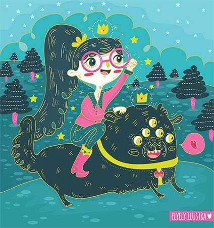 Melissa Sánchez, ilustradora mexicana orginaria de Aguascalientes... Conoce su propuesta en www.estilomexican... #Arte #Diseño #Ilustración #Vector #Dibujo #Design #Art #Artwork #Print #Serigrafía