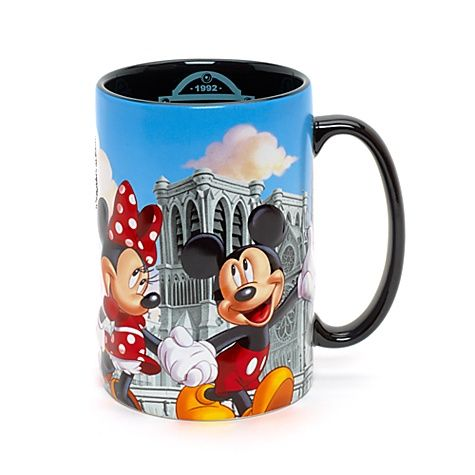 Connu Disneyland Paris Mug, Paris Collection | Disney Store Wishlist  CU65