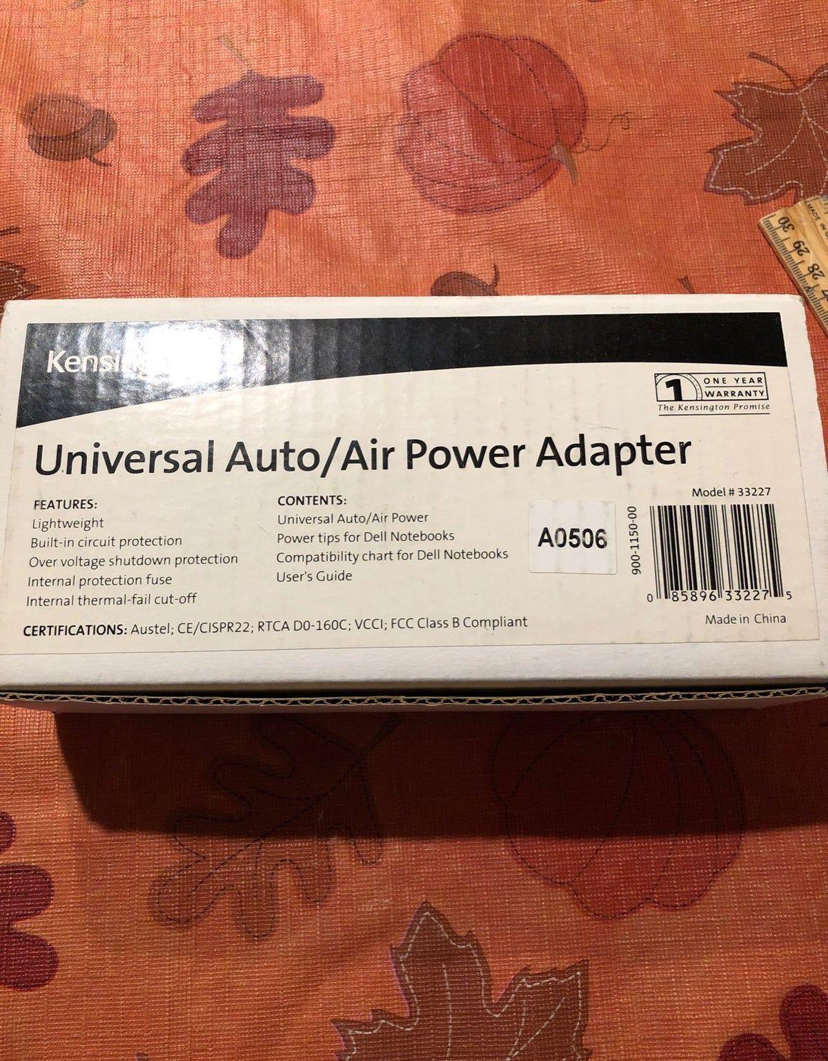Universal Auto/Air Power Adapter