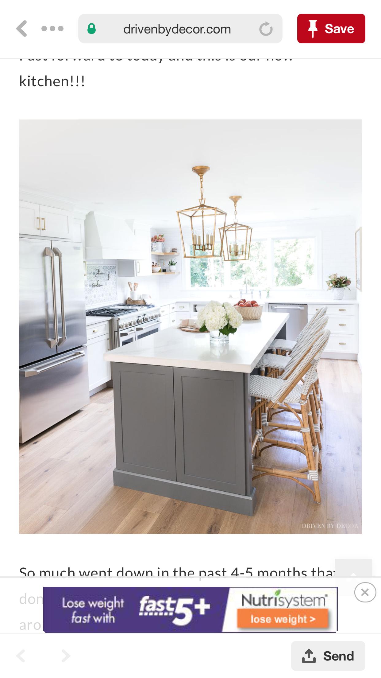 Pin By Jlm On 1 White Kitchen Remodeling Interior Design Kitchen Kitchen Design