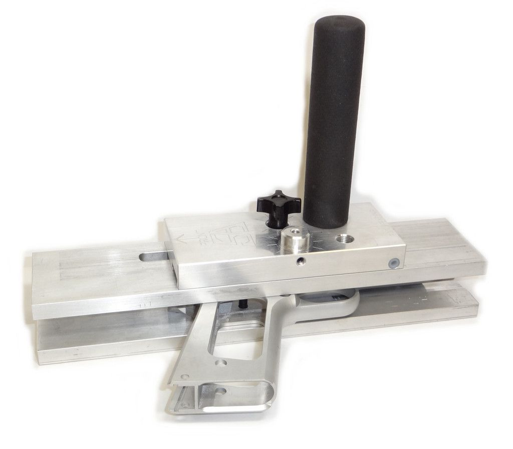 1911 80 hand cutter jig for steel or aluminum 1911 frame