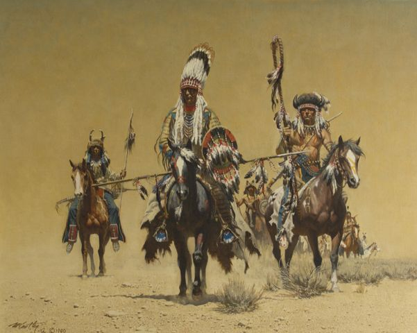 Return from The Council by Frank McCarthy kp