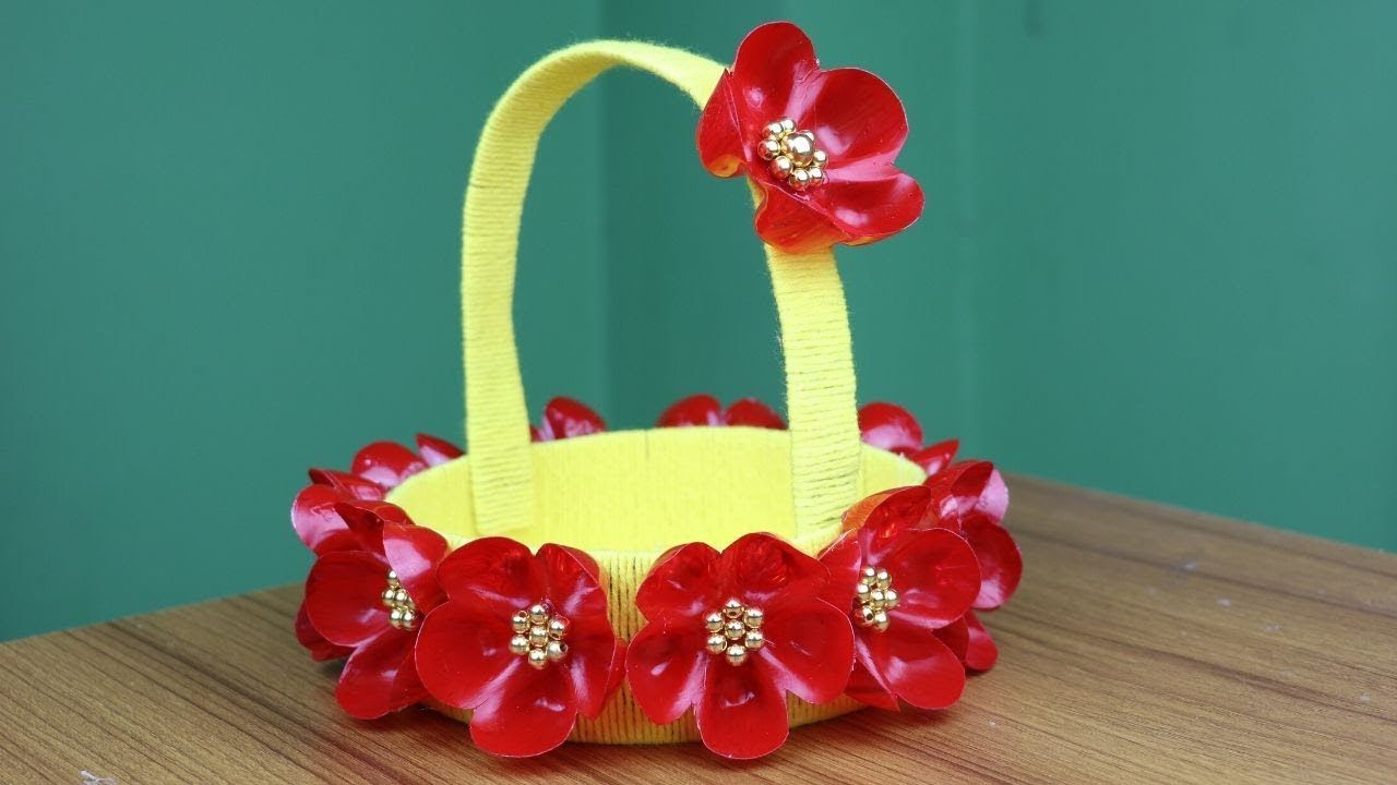 Empty Plastic Bottle Craft For Home Decor - Best reuse ideas - Best out ... #plasticbottleart