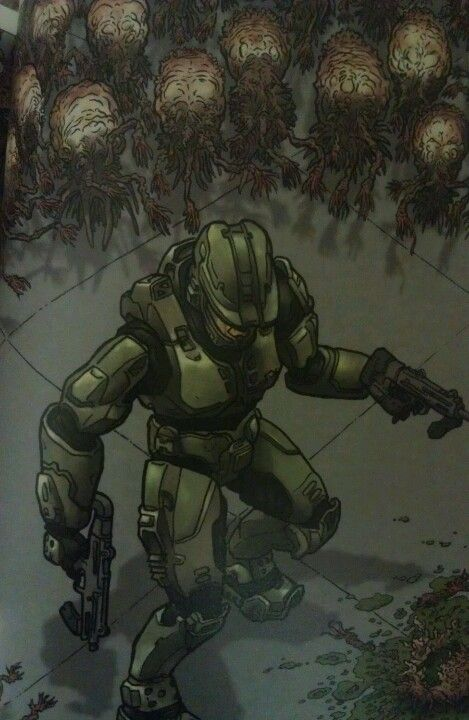 Halo art- Geoff Darrow
