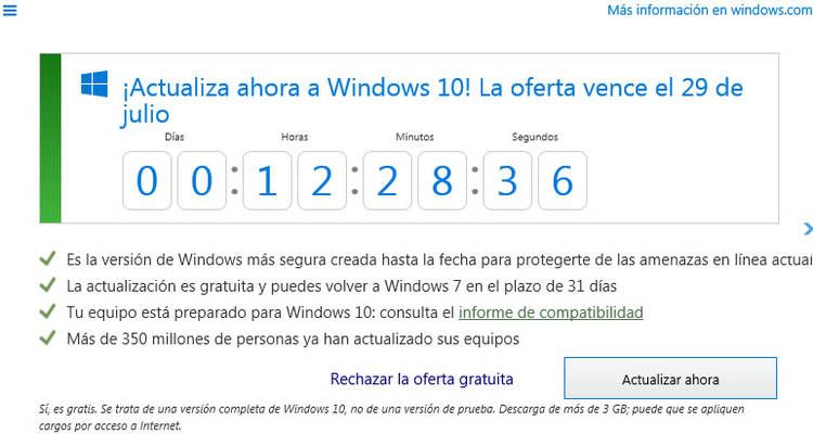 windows 10 gratis 29jul Noticias importantes- informes Pinterest