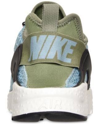 Nike Women's Air Huarache Run Ultra Se Running Sneakers from Finish Line - Blue 6.5