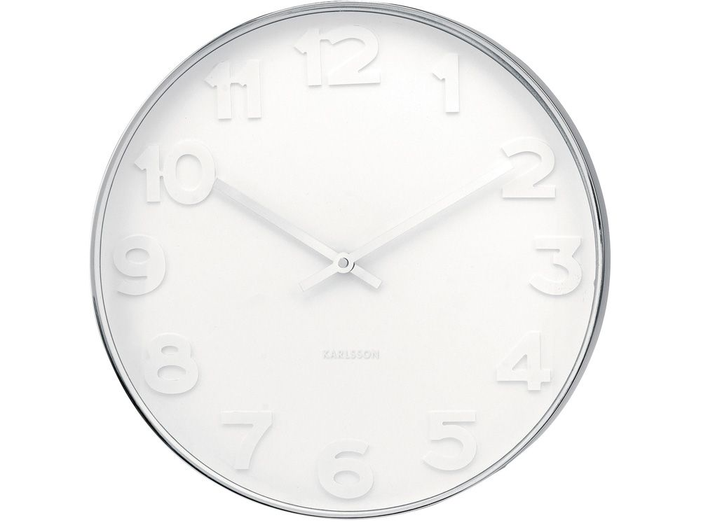 Mr. White de Karlsson por Box 32 Design. Es un reloj de pared ...