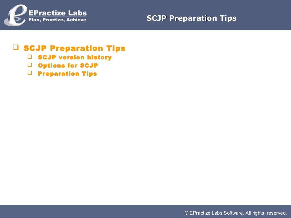 Scjp Preparation Tips By Barath Ganesh Via Slideshare Java