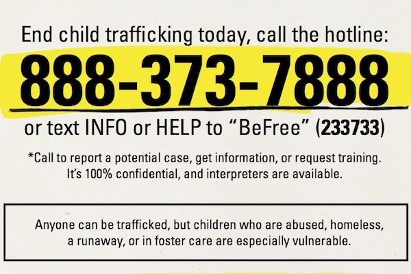 5 Signs How to Know Whether a Child is Being Trafficked - UNICEF - training report