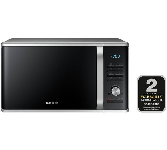 Buy Samsung 1000W Standard Microwave MS28J5255US - Silver at Argos ...