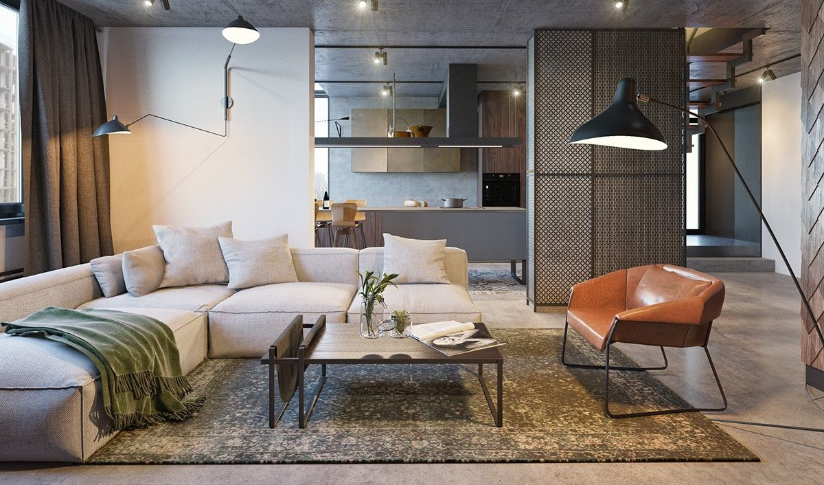 3 Modern Open Plan Interior Designs Which
