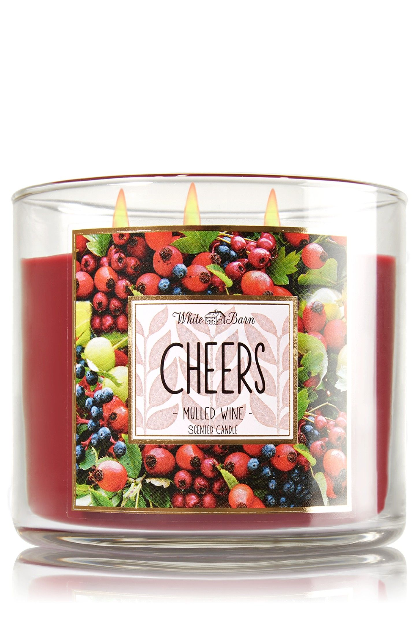 Bath And Body Works Bougie Parfumee 3 Meches Cheers Mulled Wine Bougie Parfumee Bougie Meches
