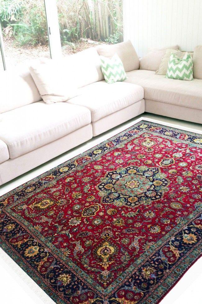 ardabil neel woolen carpet in 2019 best handmade wool area rugs rh pinterest com